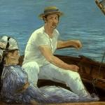 Boating, Eduoard Manet
