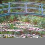 Japanese Bridge, Claude Monet